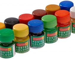 Camel Student Poster Color – 10ml each, 12 Shades