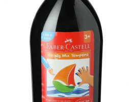 Faber-Castell Ready-Mix Tempera Bottle (Black)