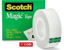 Scotch Magic Tape – The Original Matte-Finish Invisible Tape by 3M