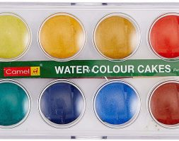 Camel Student Water Color Cakes – 12 Shades
