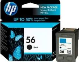 HP 56 Inkjet Print Cartridge (Black)