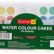 Camlin Student Water Color Cakes – 24 Shades