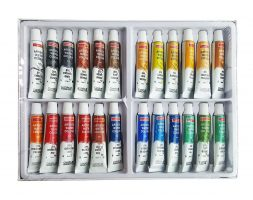 Camlin Artist 5ml Water Color Tube – 24 Shades (Multicolor)