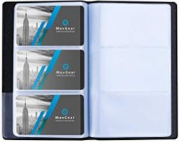 VISTING CARD HOLDER 1X8 PLAIN 192 CARDS