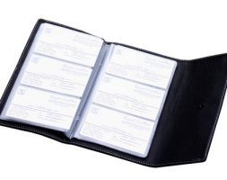 BUSINESS CARD HOLDER NO.701 SMALL 240 CARDS