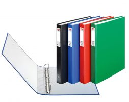 RING BINDER PLASTIC A4 NO 407