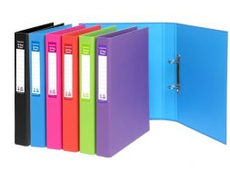 RING BINDER PLASTIC F/C NO 408