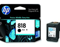 HP 818 Black Ink Cartridge CC640Z