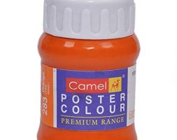Camlin Kokuyo Premium Poster Color Orange-100 ML
