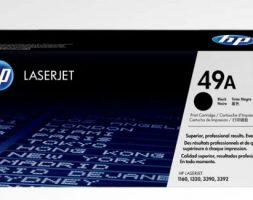 HP 49A Black Original LaserJet Toner Cartridge – Q5949A