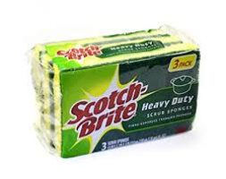 SCOTH BRITE WITH SPONGE