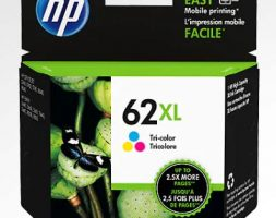 HP 62XL (C2P07) High Yield Tri-color Original Ink Cartridge
