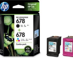 HP 678 Black + Tri Color Combo Pack Ink Cartridge