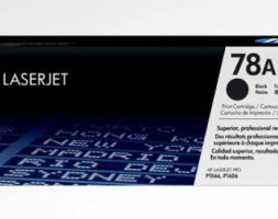 HP 78A Black LaserJet Toner Cartridge, CE278A