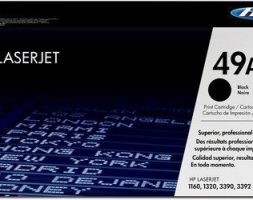 HP 49A Black LaserJet Toner Cartridge – Q5949A