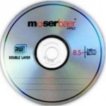 Moserbaer DVD RW 8.5GB with case
