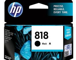 HP 818 Black Original Ink Cartridge