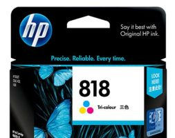 HP 818 Tri-color Original Ink Cartridge