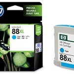 HP 88XL (C9391A)High Yield Ink Cartridge, Cyan