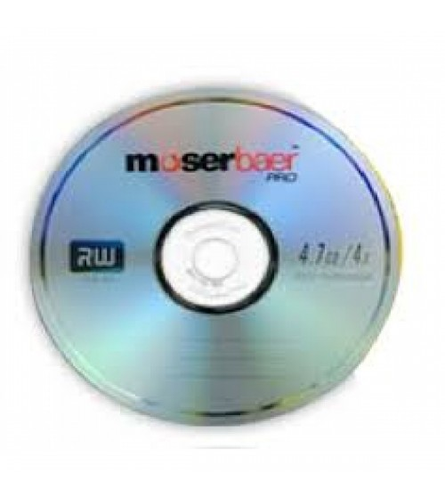 Moserbaer DVD RW with case