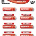 Eveready AAA Battery (Pack of 10)