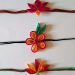 Eco-Friendly Handcrafted Rakhi's Pack of 6 Assorted