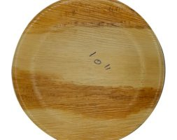 Areca Plates 10 inch's Round  Pack of 25