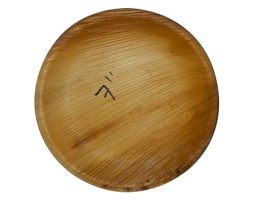 Areca plates 7 inch's Round Pack of 25