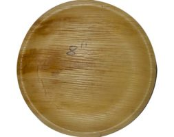 Areca Plates 8 inch's Round Pack of 25