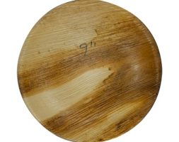 Areca Plates 9 inch's Round Pack of 25
