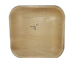 Areca Plates 7 inch's Square Pack of 25
