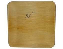Areca Plates 8 inch's Square  Pack of 25