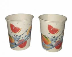 Printed Paper Cups, 210ML (100 Cups/Roll)