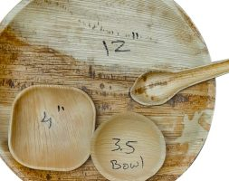 Areca Leaf Lunch/Dinner Set Combo