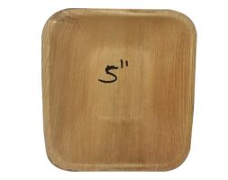 Areca Bowl Square 5 inch's Pack of 25